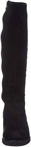 Hautes Black st black Unisa Darek Femme Bottes f18 Noir zvOxqIq1Fw