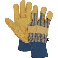 Pigskin Grain (Lined Grain Pigskin Leather Palm Glove, UPC#072874050122, MFG#4341X, Size: Extra Large)