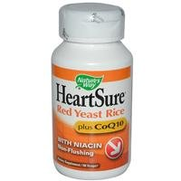 Way HeartSure Red Yeast Rice et CoQ10 Nature, 60 Vcaps