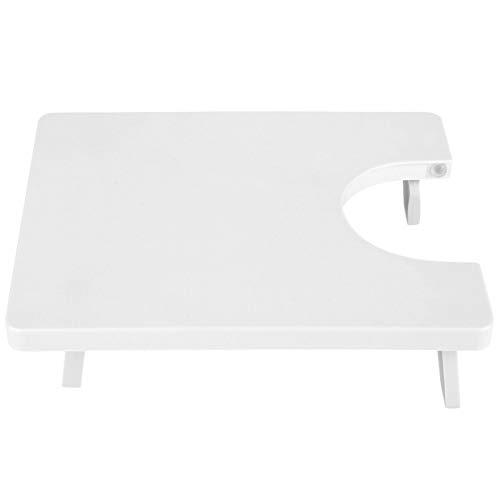 WOUPY Mesa de extension, Tablero de maquina de Coser con diseno de Patas Plegables, Mano de Obra Exquisita portatil Flexible para Manualidades Bolsas de Almuerzo Delantales de Costura para el
