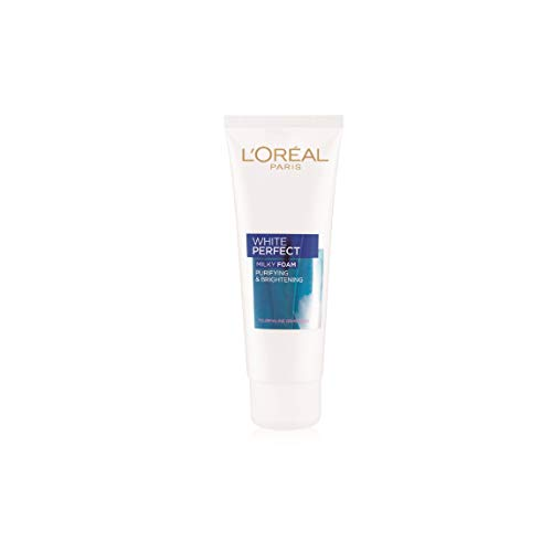 L'Oreal Paris White Perfect Milky Foam Facewash, 50ml