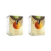 Rishi Tea Organic White Tea Peach Nectar -- 15 Tea Bags