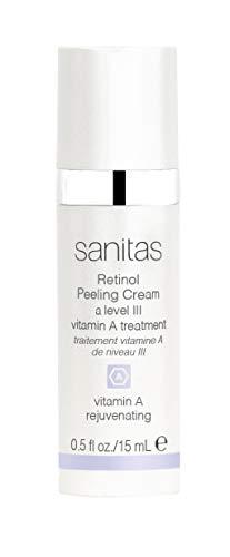 (Sanitas Skincare Retinol Peeling Cream, Professional Strength Peeling Cream, 0.5 Ounce)