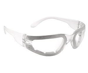 Radians MRSF111ID Mirage Foam Lined Safety Eyewear with Clear Anti-Fog Lens by Radians