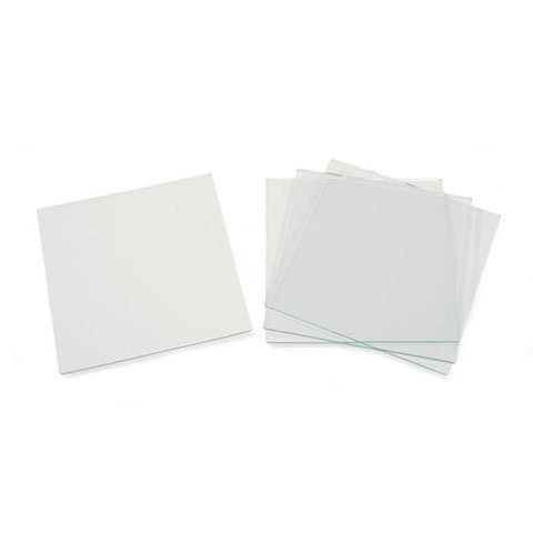 Bulk Buy: Darice DIY Crafts Glass Tile Square 4 x 4 inches 4 pieces (6-Pack) 1098-80