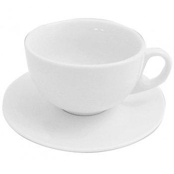 Mayfair 10 Oz Cappuccino Cup & Saucer