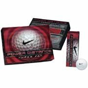Nike Power Distance Super Long Golf Balls - 1 Dozen
