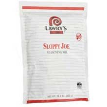 Lawrys Sloppy Joe Seasonings - 15 oz. pack, 6 packs per case
