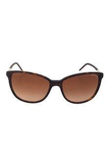 Burberry Women's 0BE4180 Dark Tortoise/Brown Gradient Burberry Brown Tortoise Sunglasses