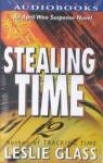 Stealing Time, Leslie Glass, 0525944605