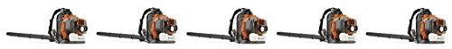Husqvarna 965877502 350BT 1.6 kW 50.2 cc 7500 rpm 180 MPH Backpack Leaf Blower with 2.1 HP X-Torq engine (5-(Pack))