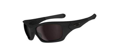 Oakley Men's Pit Bull Sunglasses,Matte Black Frame/Warm Grey Lens,one - Bull Pit Sunglasses
