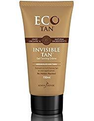 Eco Tan Invisible Tan Organic Face Body Tanning Lotion 5.29 fl oz