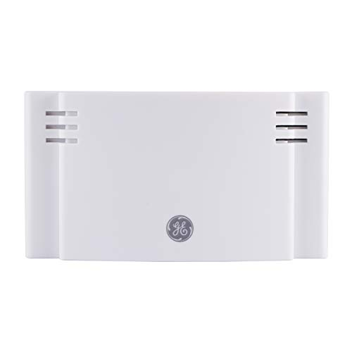 GE Wireless Doorbell Kit, Battery-Operated, 2 Melodies, 1 Receiver, 4 Volume Levels, 150 Ft. Range, Mountable, White, 35571