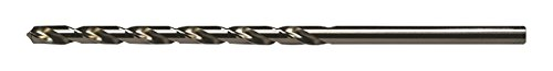 Viking Drill and Tool 12040#41 Type 210 118 Degree Bright HSS Taper Length Drill Bit 12 Pack
