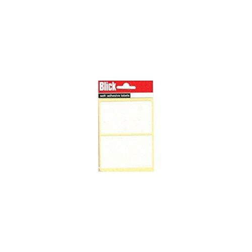 Blick Label Bag 50x80mm White Pack of 14 RS000457
