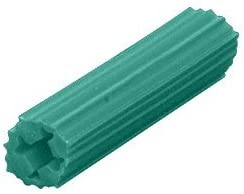 LAURENCE 1349 CRL 1//4 Plastic Screw Anchor Without Shoulder C.R 500 Pack