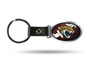 Rico Industries NFL Jacksonville Jaguars Accent Key ChainAccent Key Chain, Black, ()