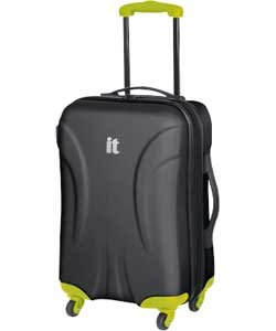 IT Contrast Small 4 Wheel Suitcase - Black (115799255): Amazon.co ...