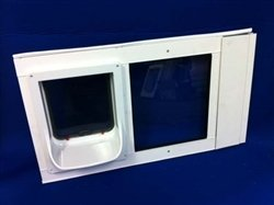 Security Boss Animate Electronic Insulated Dual Pane Sash Window Insert