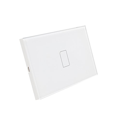 Broadlink TC2 Wireless 1Gang Smart Home Remote Control Wifi Wall Light Touch Screen Switch 110V-240V IR+RF Work with PRO US Version