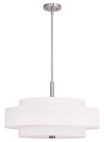 Triple Drum Pendant Light
