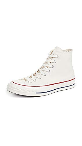 Converse Men's Chuck Taylor All Star '70s Sneakers, Parchment, Off White, 12 Medium US (Lace High Top Converse)