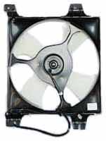 TYC 610910 Mitsubishi Galant Replacement Condenser Cooling Fan (Mitsubishi Galant Radiator Cooling Fan)