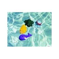 Juego de agua con equipo acuático y mascotas de buceo, juego de 4