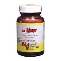Natural Sources - All Liver, 525 mg, 60 tablets