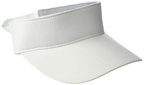 Under Armour Women's Links Visor 2.0, White (100)/Black, One Size