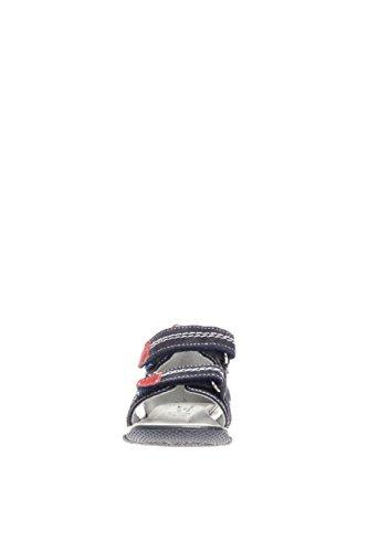 Sandale ouvert Nero Junior scratch et enfant Bleu P633910M bleu avec bout Giardini 200 Sandale wzYzFx14q