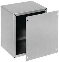 BUD Industries AU-1083 Aluminum Utility Cabinet, 4