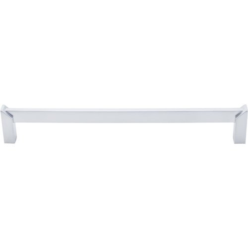Top Knobs TK237 Meadows Edge 8 Inch Center to Center Handle Cabinet Pull, Aluminum