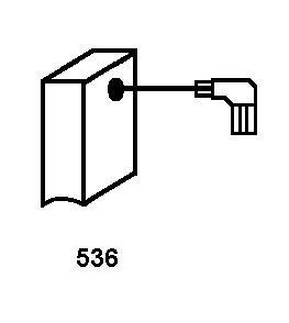 2.0x4.3x5.9 Avec arr/êt automatique 5x11x15,5mm Balais de Charbon pour MAKITA 9565CVR coupeuse//scie