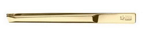 Pfeilring Pinzette schräg vergoldet 218940010