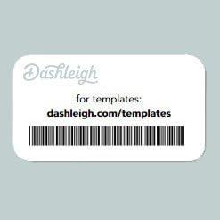Clear Gloss Inkjet Medium 3 x 1.5 inches Dashleigh 70 Printable Mini Liquor Bottle Labels