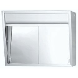 Jensen 327LP Flair Stainless-Steel Surface Mounted Medicine Cabinet