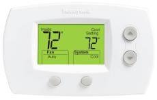 Focuspro Non Programmable Digital Thermostat - Honeywell The Focuspro Non-Programmable Digital T-Stat