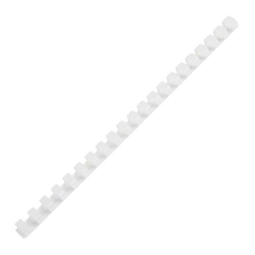 25/64 Inch Diameter Plastic Comb Binding Spines 60 Sheets, 10 Pcs (Proclick P50 Binding)