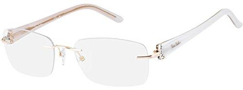 Pierre Cardin Glasses Women PC 8778 QOU Gold Rimless