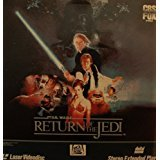 Star Wars Return of the Jedi Extended Play 2 Laserdisc set 1986