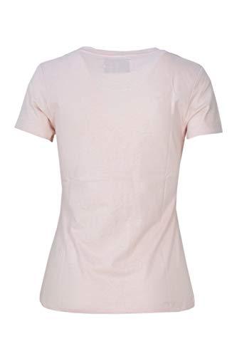 Core Klein Calvin Jeans Poudre T J20J207841 Shirt Femme Rose Slim OqXXfd6W