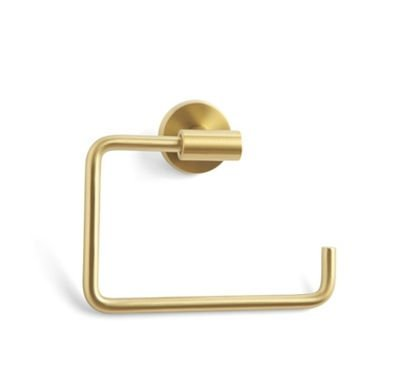 Amerock Bronze Towel Bar (Amerock Abh26541 Bbz Towel Ring - Brushed Bronze)