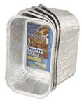 93835 Hefty EZ Foil Bake Mini Loaf Pan 5.75\