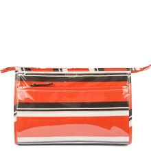 Kate Spade Large Heddy Cosmetic Case Beauty Stripe Make-up Bag