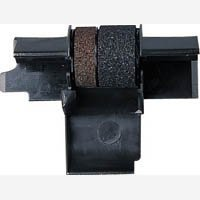 1 X Compatible Seiko IR-40T Black/Red Ink Rollers, Works for CANON P170DH, CANON P200DH, CANON P200DHII, CANON P200DHIII