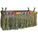 Nylon Tiki Table Skirt - Pack of 3 Partyrama HN08251-3-CHNA-tblsk