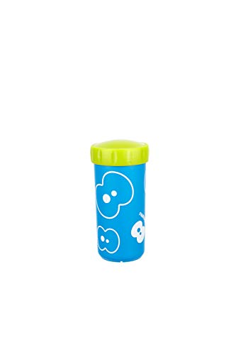 FruitFriends 7111 Mug with Lid 0.3 Liters Azure Blue, 0.3 Litre