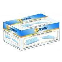 DEFEND- Diffuser (Anti-Fog) Ear-loop Pleated Mask Pink 50 bo 113692 Us Depot ()